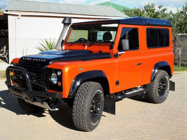 2014 Custom Land Rover Defender 90 2 2 Tdci With 19700km