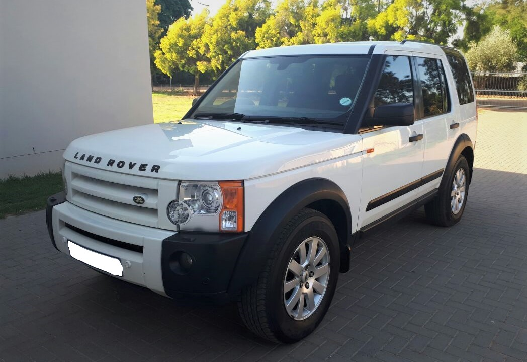 2006 white land rover discovery 3 tdv6 hse gateway. Black Bedroom Furniture Sets. Home Design Ideas