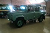 2016 Land Rover Defender 110 Heritage CSW with low mileage!