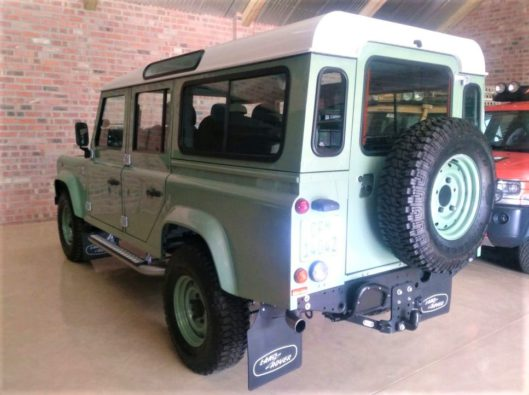 2016 Land Rover Defender 110 Heritage CSW with very low mileage!