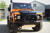 2014 Custom Land Rover Defender 90 2.2 TDCI with 19700km