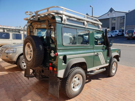1999 Land Rover Defender 90 Td5 CSW with 205000Km